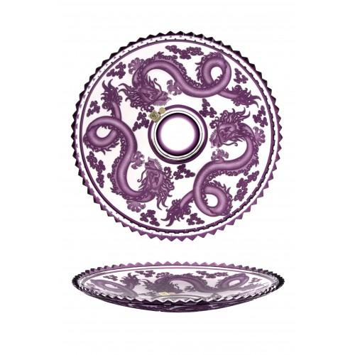 Talíř Drak, barva fialová, průměr 350 mm