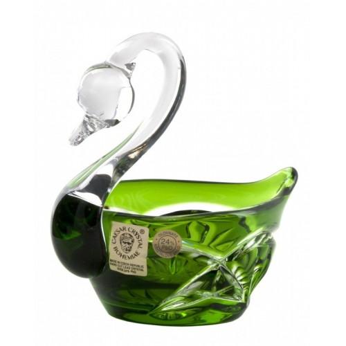 Labuť Mini, barva zelená, průměr 100 mm