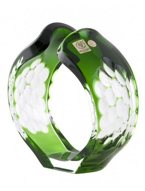 Svícen Sírius, barva zelená, výška 165 mm