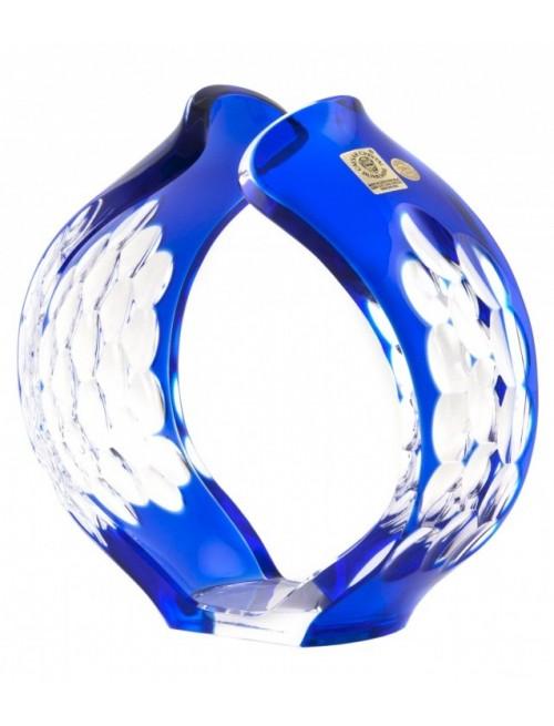 Svícen Sírius, barva modrá, výška 165 mm