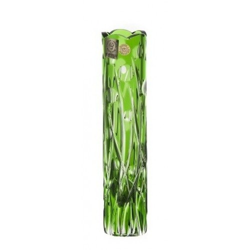 Váza Heyday, barva zelená, výška 180 mm