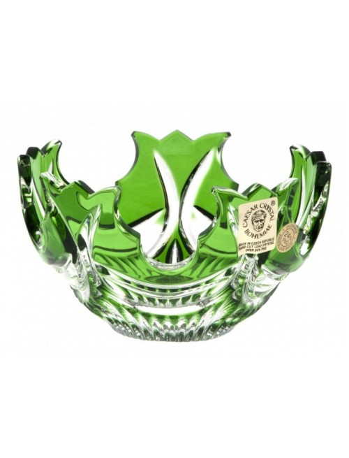 Miska Diadem, barva zelená, průměr 130 mm