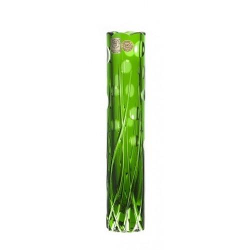 Váza Heyday, barva zelená, výška 230 mm