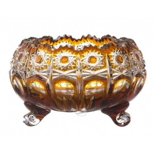 Miska Petra, barva amber, výška 114 mm
