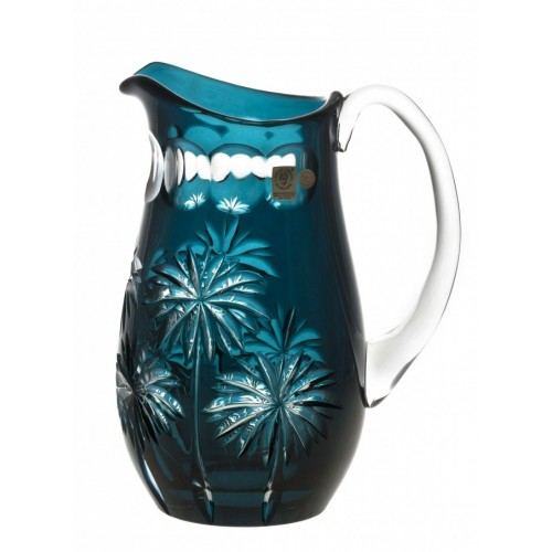 Džbán Palm, barva azurová, objem 1600 ml