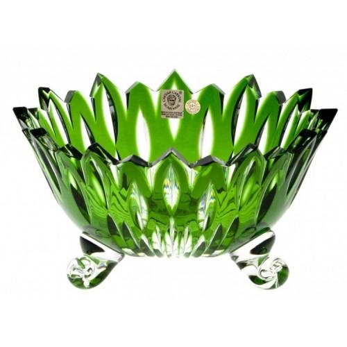 Mísa Flame, barva zelená, průměr 210 mm