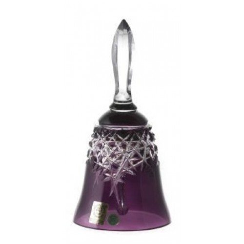 Zvonek  New Milenium, barva fialová, výška 165 mm