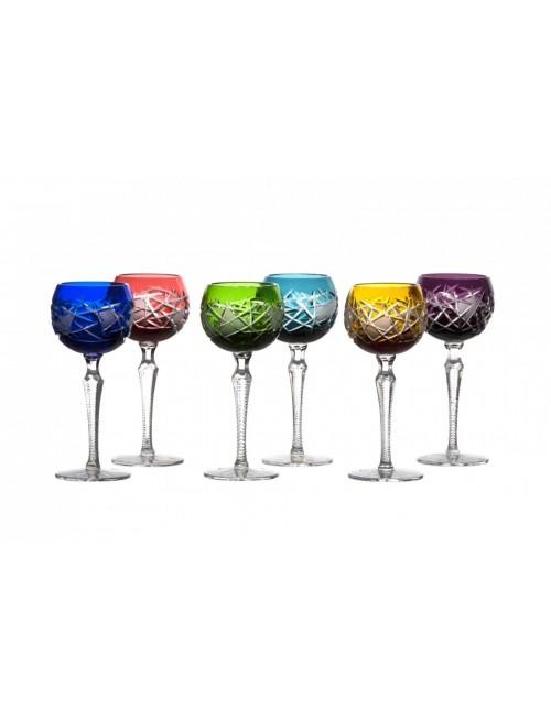 Set Sklenice na víno Mars 190 LUX, barva mix barev, objem 190 ml