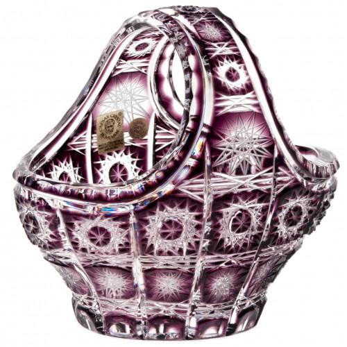 Koš Paula, barva fialová, průměr 150 mm