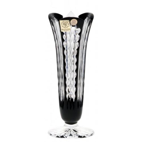 Váza Akiko, barva černá, výška 175 mm