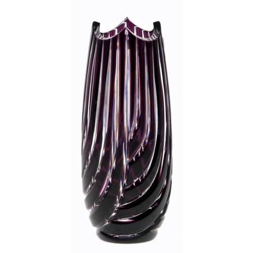 Váza Linum, barva fialová, výška 180 mm