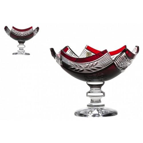 Nástolec Laurel, barva rubín, průměr 230 mm