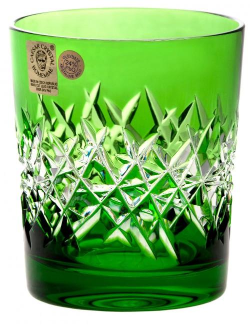 Sklenička Hoarfrost, barva zelená, objem 290 ml