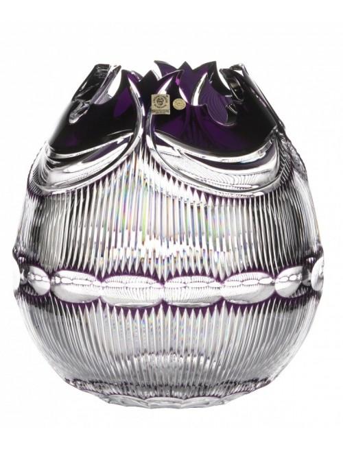 Váza Diadem, barva fialová, výška 280 mm