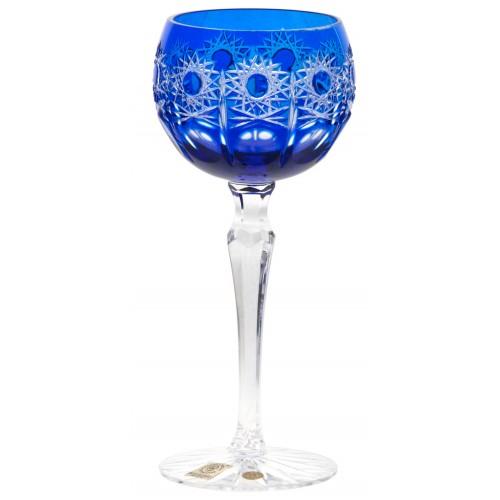 Sklenice na víno Petra, barva modrá, objem 190 ml