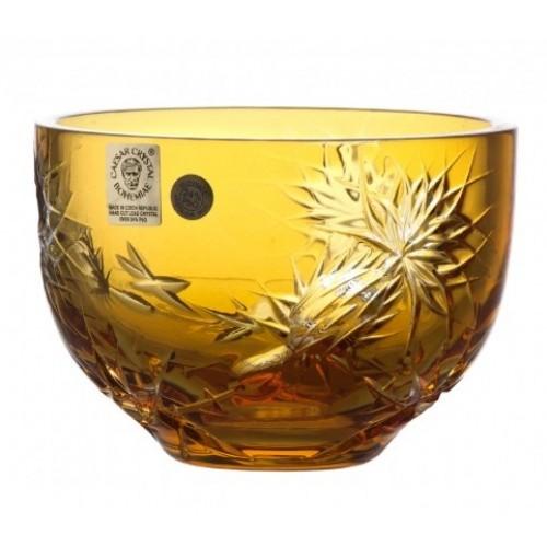 Miska Thistle, barva amber, průměr 110 mm