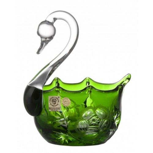 Labuť Rose, barva zelená, průměr 116 mm