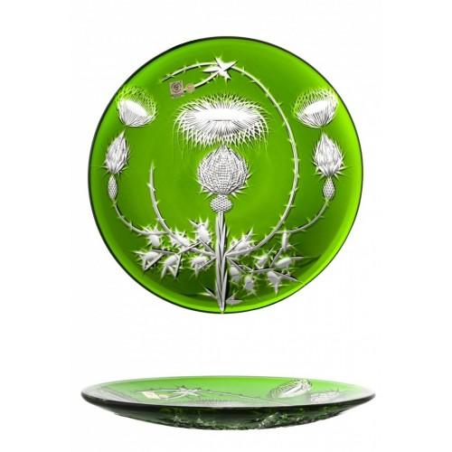 Talíř Thistle, barva zelená, průměr 300 mm