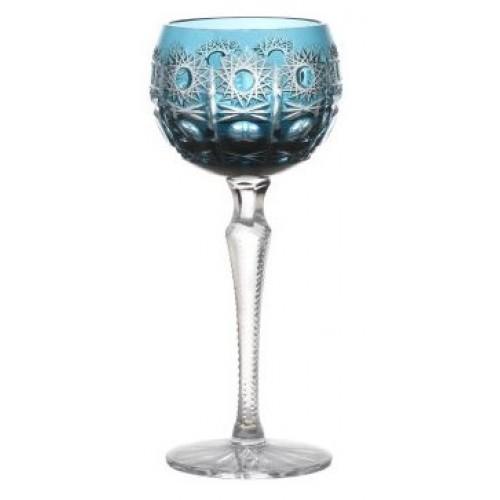 Sklenice na víno Petra, barva azurová, objem 190 ml