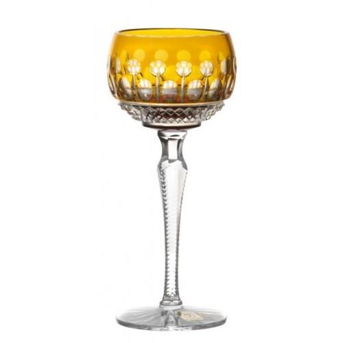 Sklenice na víno Tomy, barva amber, objem 190 ml
