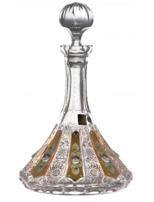 Láhev 500K Zlato, barva čirý křišťál, objem 1050 ml