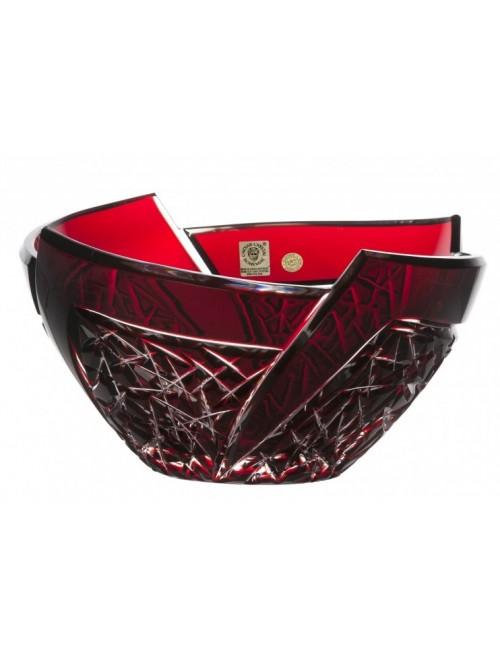 Mísa Fan, barva rubín, průměr 225 mm