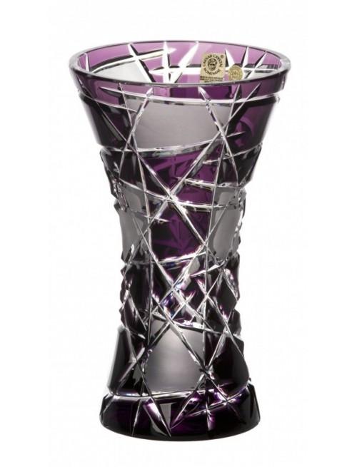 Váza Mars, barva fialová, výška 205 mm