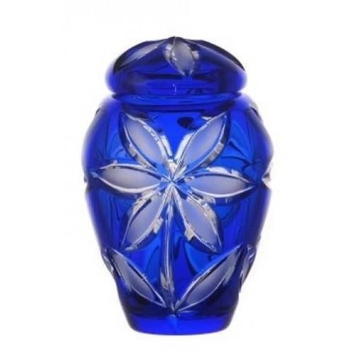 Urna Linda mat, barva modrá, velikost 120 mm