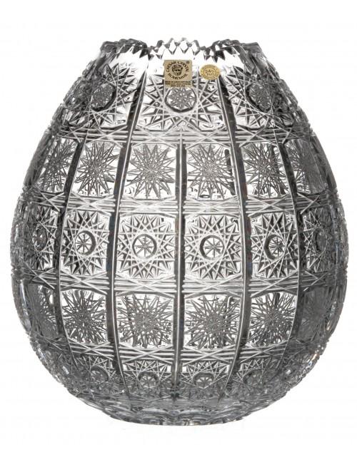 Váza 500PK, barva čirý křišťál, výška 210 mm