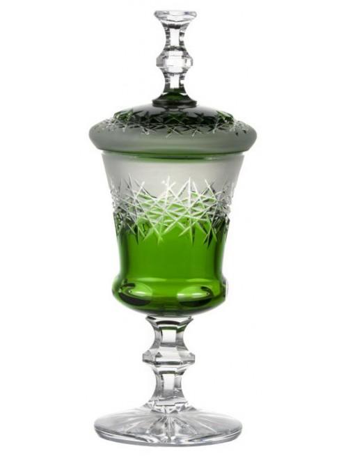 Pohár Hoarfrost, barva zelená, výška 395 mm