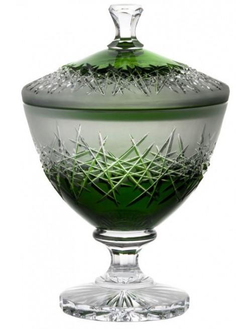 Dóza Hoarfrost, barva zelená, výška 260 mm