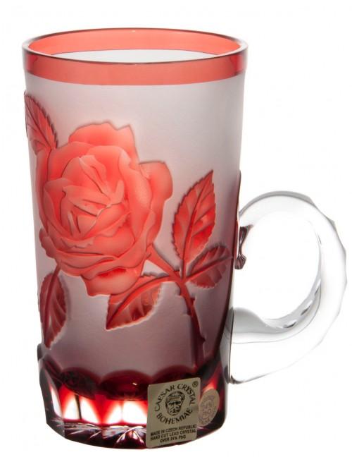 Hrneček Růže, barva rubín, objem 100 ml