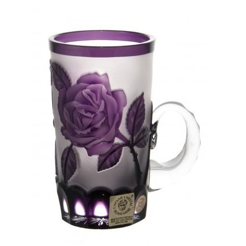 Hrneček Růže, barva fialová, objem 100 ml