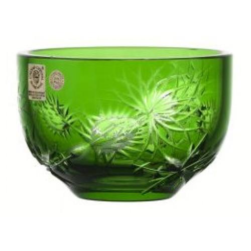 Miska Thistle, barva zelená, průměr 110 mm