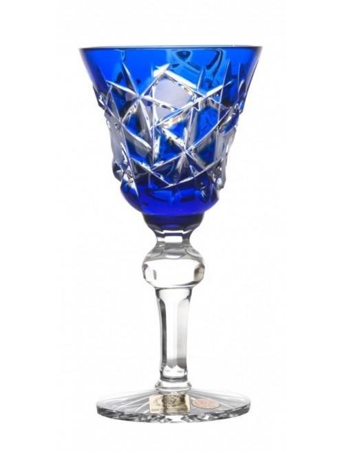 Sklenice Mars, barva modrá, objem 50 ml