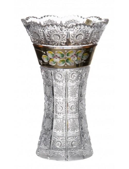 Váza Smalt II, barva čirý křišťál, výška 255 mm