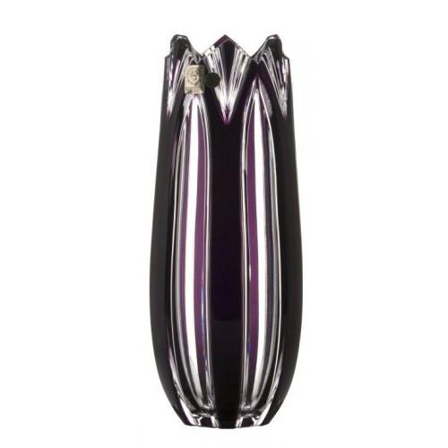 Váza Lotos, barva fialová, výška 250 mm