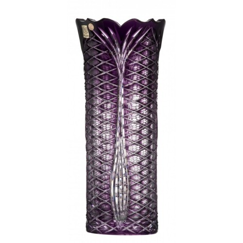 Váza Ankara I, barva fialová, výška 310 mm