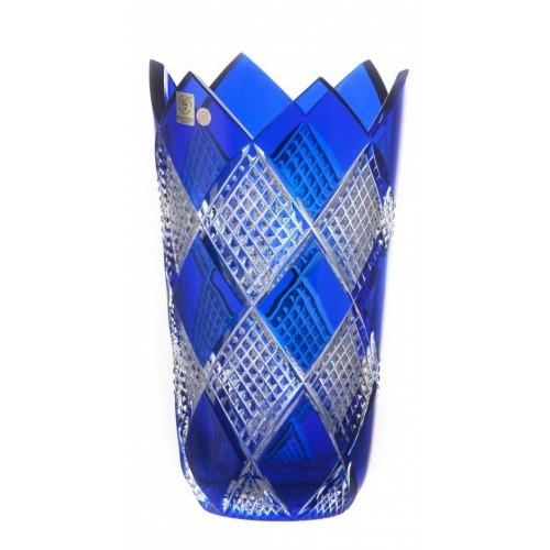 Váza Colombine II, barva modrá, výška 255 mm