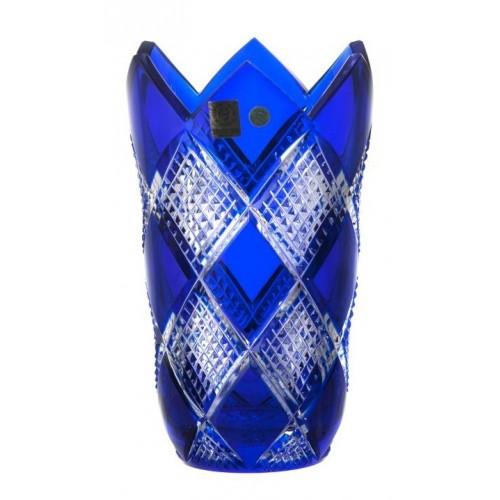 Váza Colombine, barva modrá, výška 205 mm