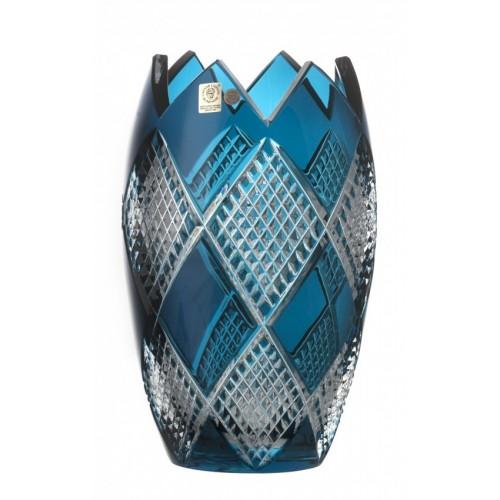 Váza Colombine I, barva azurová, výška 255 mm