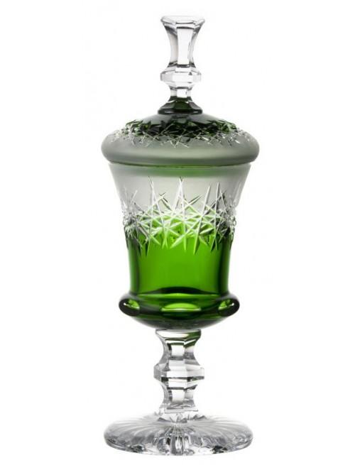 Pohár Hoarfrost, barva zelená, výška 350 mm
