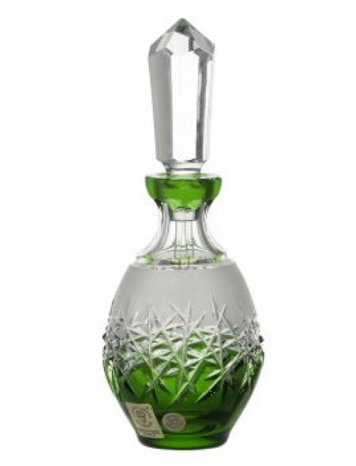 Flakon Hoarfrost, barva zelená, objem 130 ml