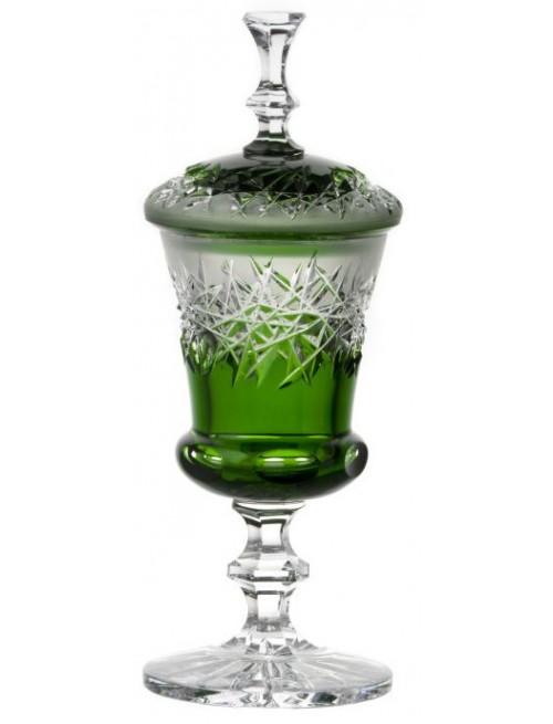Pohár Hoarfrost, barva zelená, výška 310 mm
