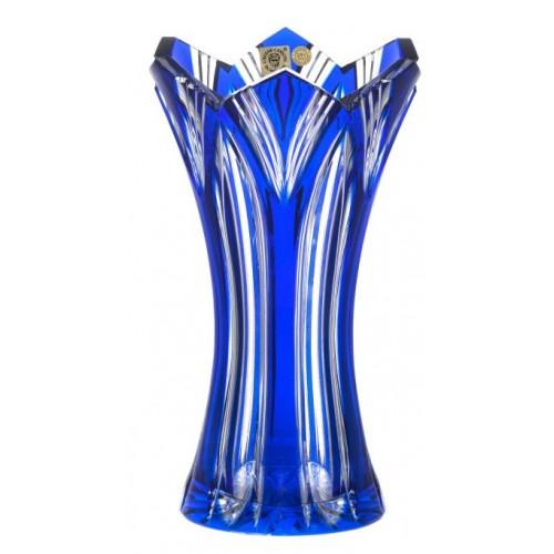 Váza Lotos, barva modrá, výška 230 mm