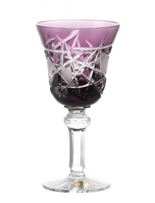 Sklenice na víno Mars, barva fialová, objem 240 ml