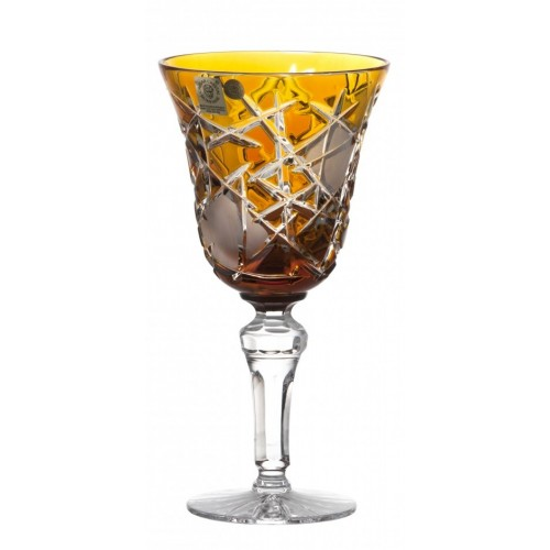 Sklenice na víno Mars, barva amber, objem 240 ml