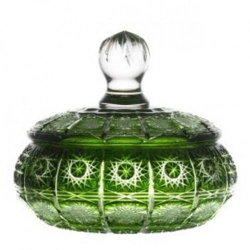 Dóza Paula, barva zelená, výška 195 mm