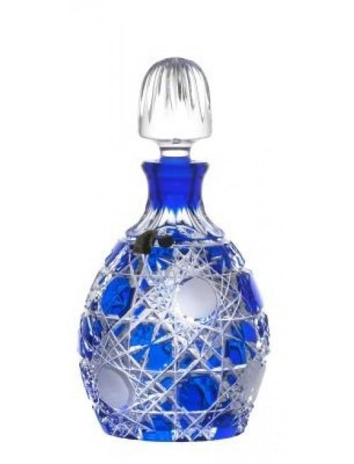Lahev Flake, barva modrá, objem 700 ml