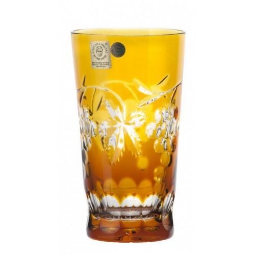 Sklenička Grapes, barva amber, objem 320 ml